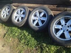 Продам колеса 18 с резиной goody year ultra grip 500 255/55r18. 8.0x18 6x139.70 ET25