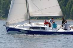Парусная лодка, построенная по проекту Didi26. Длина 8,00м., Год: 2012 год