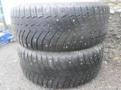Michelin X-Ice North 2. Зимние, шипованные, износ: 40%, 2 шт