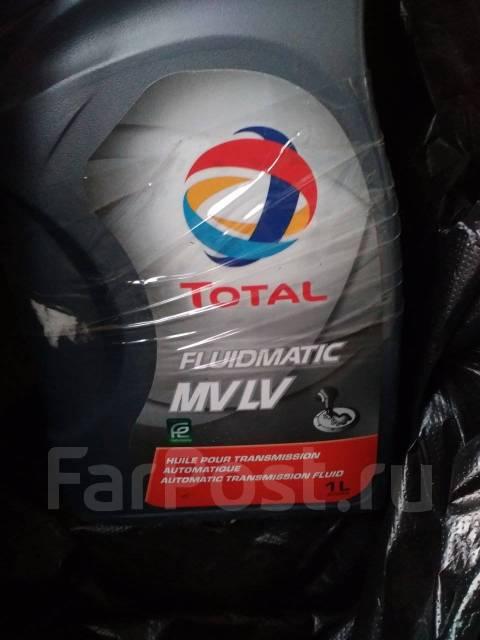 Total. Вязкость FluidMatic MV LV, синтетическое