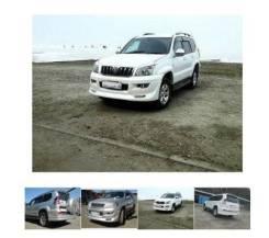 Обвес кузова аэродинамический. Toyota Land Cruiser Prado, GRJ120W, GRJ120. Под заказ