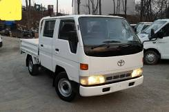 Toyota Dyna. 4WD, двухкабинник + борт 1,5 тонны, 3 000 куб. см., 1 500 кг.