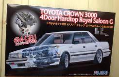 Модели автомобилей. Toyota Crown, MS125 Двигатель 6MGEU