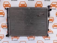Радиатор охлаждения двигателя. Kia Sorento, UM