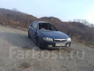 Mazda Familia S-Wagon. автомат, 4wd, 1.5 (100 л.с.), бензин, 150 000 тыс. км