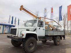ГАЗ 3308 Садко. ГАЗ-3308 - Бурильно-крановая машина ( БКМ - 350 на ГАЗ - 33081), 4 750куб. см., 750кг.