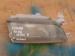 Фара правая Toyota Corolla EE102.