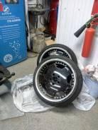 Продам разборные колеса 3-х составные диски. 10.0x18 5x114.30