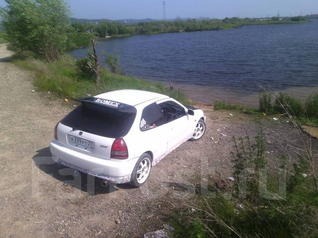 Спойлер. Honda Civic Type R, EK9 Honda Civic, EK2, EK3, EK4, EK9