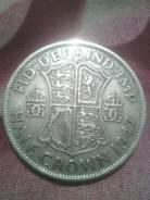 Англия пол кроны 1947г. Георг 6.