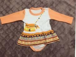 Боди-платья. Рост: 62-68 см