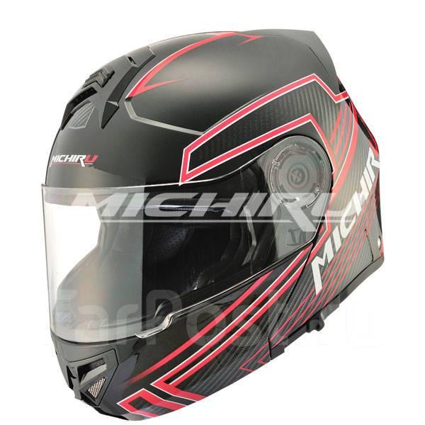 Картинки по запросу Шлем (модуляр) MICHIRU MF 120 Tron Red (Размер M)