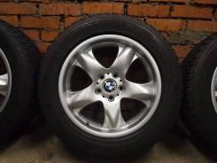 Литые диски BMW с зимней резиной R18 в Москве. 8.5x18 5x120.00 ET53 ЦО 72,6мм.