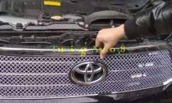 Молдинг решетки радиатора. Toyota Highlander, ASU40, MHU48, GSU40, GSU45 Двигатели: 1ARFE, 3MZFE, 2GRFE