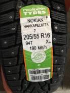 Nokian Hakkapeliitta 7. Зимние, шипованные, 2016 год, без износа, 1 шт. Под заказ