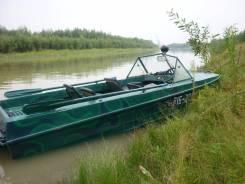 Казанка-5. длина 4,90м., двигатель подвесной, 55,00л.с., бензин. Под заказ