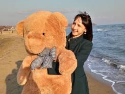 Медведь большой плюшевый 120см на подарок. Доставка бесплатно