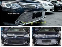 Молдинг решетки радиатора. Toyota Camry, ASV51, GSV50, AVV50, ASV50 Двигатели: 6ARFSE, 2GRFE, 2ARFXE, 2ARFE