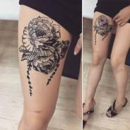 Мехенди, временные татуировки хной