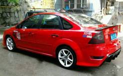 Бампер Задний . Ford Focus (MK2) 2004-2008.