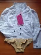Боди-рубашки. Рост: 110-116, 116-122 см