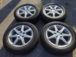 Комплект литых колес Weds с зимней резиной 205/60R-16 Yokogama. 6.5x16 5x114.30 ET40 ЦО 73,0мм.