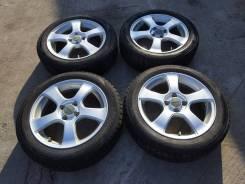 Комплект колес Violento 175/60R-16 с зимней резиной Dunlop 2011г. 5.5x16 4x100.00 ET39 ЦО 73,0мм.