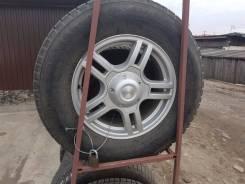Продам комплект отличных колес на УАЗА. x16