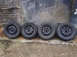 Колеса 185 /65 R14 липучка Bridgestone Blizzak Revo1 диски R14 4X100. 5.0x14 4x100.00 ET39 ЦО 54,1мм.