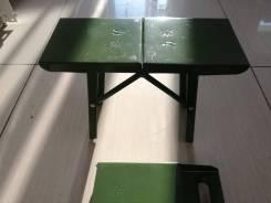 Продам стульчик складной метал.
