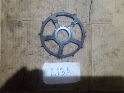 Шкив коленвала. Honda: Jazz, Mobilio, Civic, City, Airwave, Mobilio Spike, Fit Aria, Fit, Partner Двигатели: L12A1, L12A3, L12A4, L13A1, L13A2, L13A5...
