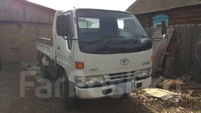 Toyota Dyna. Самосвал Toyota DYNA BU162A 4WD, 4 100 куб. см., 3 000 кг.