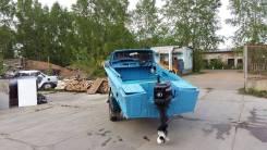 Прогресс-2М. 2011 год, длина 4,30м., двигатель подвесной, 40,00л.с., бензин