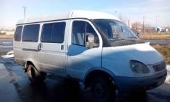 ГАЗ Газель Пассажирская. Газель - ГАЗ 322132 (пассажирская), 2 400 куб. см., 13 мест