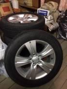 Продам колеса, лето, 17, на оригинальных дисках KIA. 6.5x17 5x114.30 ET35 ЦО 67,1мм.