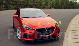 Обвес кузова аэродинамический. Mazda Mazda3 Mazda Axela, BM2FP, BM2FS, BM5AP, BM5AS, BM5FP, BM5FS, BMEFS, BYEFP Двигатели: P5VPS, PEVPH, PEVPR, SHVPTR