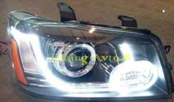 Фары передние тюнинг Toyota Highlander 2001-2006/Toyota Kluger V 2001