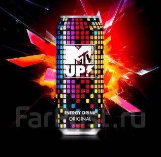 Новинка! Напиток энергетический MTV Up! Original