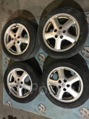 Разноширокие колёса toyota r16. 6.5/7.5x16 5x114.30 ET50/55