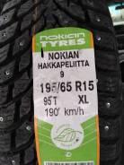Nokian Hakkapeliitta 9. Зимние, шипованные, без износа, 4 шт