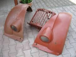 На ГАЗ-69 крылья и морду новые.