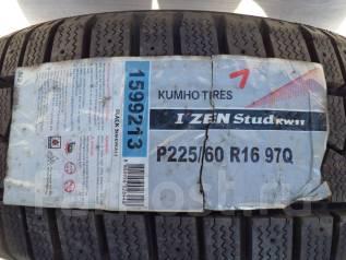 Kumho I'Zen Stud KW11. Зимние, под шипы, 2011 год, без износа, 4 шт
