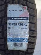 Kumho I'Zen KW22. Зимние, под шипы, 2011 год, без износа, 4 шт