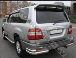 Защита бампера. Toyota Land Cruiser, HDJ100, HDJ100L, FZJ105, HDJ101K, HDJ101, UZJ100, HZJ105, FZJ100, UZJ100W, UZJ100L, J100 Двигатели: 1HDFTE, 1HZ...