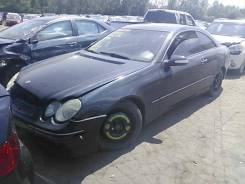 Подсветка номера Mercedes CLK W209 2002-2009