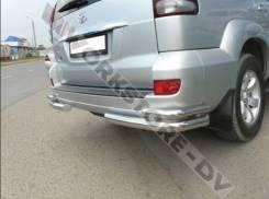 Защита бампера. Toyota Land Cruiser Prado, RZJ120, LJ120, GRJ120, KDJ120, KZJ120, TRJ120, VZJ120