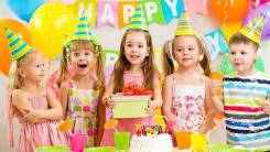"""Организация детского дня рождения """"под ключ"""""""