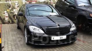 Обвес кузова аэродинамический. Mercedes-Benz S-Class. Под заказ