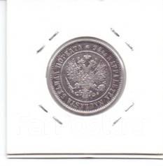 1.23 Монета серебро 1 марка Финляндия 1874