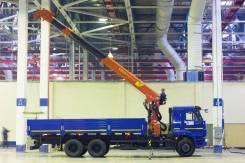 Камаз 65115. Бортовой автомобиль (6х4) с КМУ Инман ИТ150, 300 куб. см., 6 600 кг.